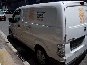 furgoneta Barcelona Medi Ambient